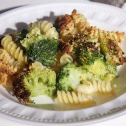 Fusilli con Broccoli e Scamorza al Forno