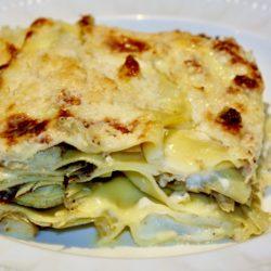 Lasagna ai Carciofi (Artichokes)