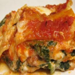 Lasagna algi Spinaci