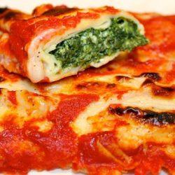 Crespelle alla Fiorentina (Spinach and Ricotta)