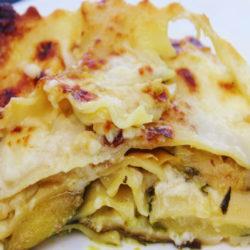 Lasagna di Zucchine e Mozzarella in Bianco