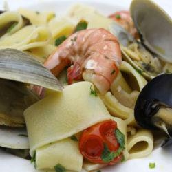 Paccheri allo Scoglio (Mixed Seafood)