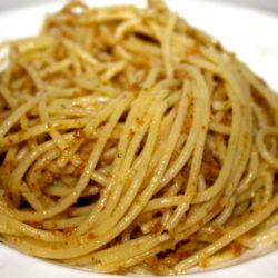 Spaghetti al Pane Grattugiato (Breadcrumbs)