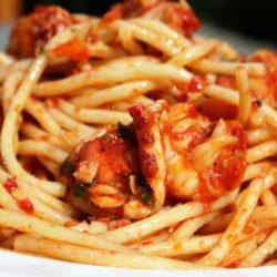 Spaghetti all'Astice (Lobster)