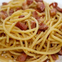 Spaghetti alla Caciara (Pancetta)