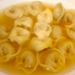 Tortellini in Brodo (Broth)