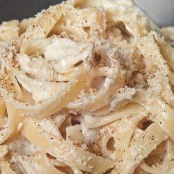 Fettuccine con Salsa di Noci (Walnut Sauce)