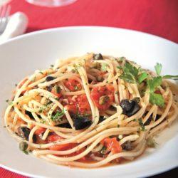 Spaghetti alla Puttanesca (Whore's Style)
