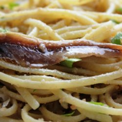 Linguine alle Acciughe (Anchovies)
